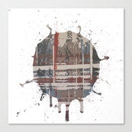 Waterlogged -  splash Canvas Print
