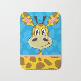 Cute Cartoon Giraffe Bath Mat