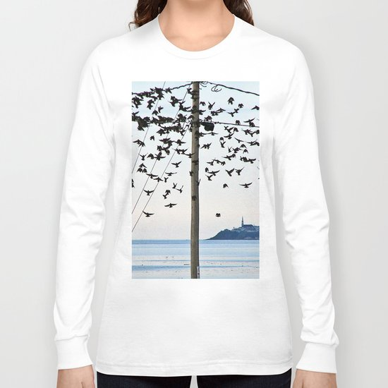 Birds in Flight Long Sleeve T-shirt