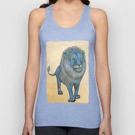The Wise Lion Unisex Tank Top
