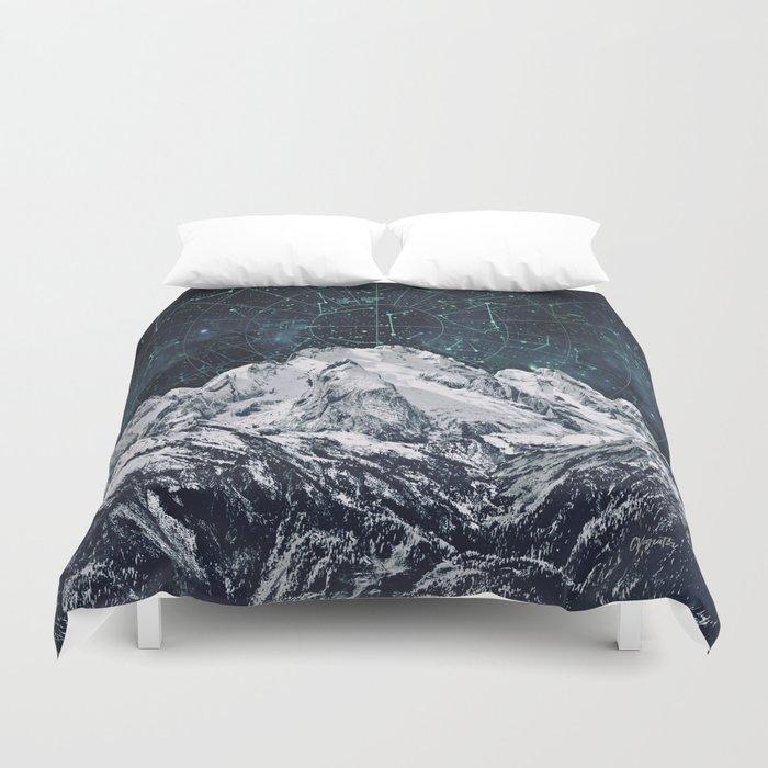 Constellations over the Mountain Bettbezug