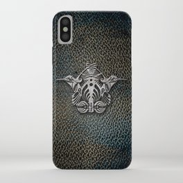 Bassnectar Family Crest (Metal) iPhone Case