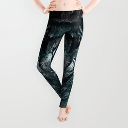 Temple of the Feathered Serpent Leggings