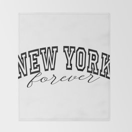 new york Throw Blanket