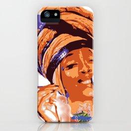 Badu iPhone Case