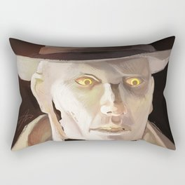 The Synth Detective Rectangular Pillow