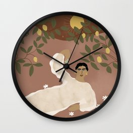 Greek Life Wall Clock