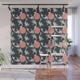 Koi fish pattern 001 Wall Mural