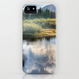 Fall Fly Fishing in Maine iPhone Case