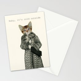Kitten Dressed as Cat Stationery Cards