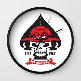 Portgas D. Ace - Fire Fist Wall Clock