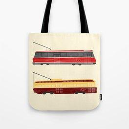 Streetcars Tote Bag