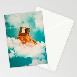 Living On The Cloud Stationery Cards