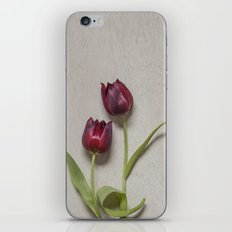 Two Red Tulips I iPhone & iPod Skin