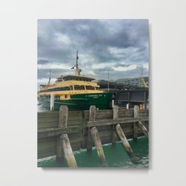 Queenscliff Sydney Ferry Metal Print