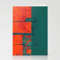 titan Stationery Cards featuring Titan - Cronos by Fernando Vieira