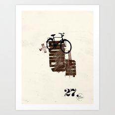 The Here 27/ Das Hier 27 Art Print