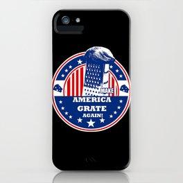 Grate again iPhone Case