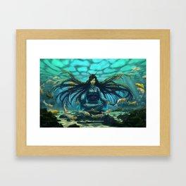 Deep Meditation Framed Art Print