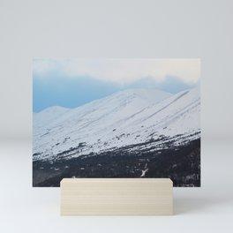 Blue Behind The Mountains 3 Mini Art Print