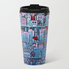 Happy City Metal Travel Mug