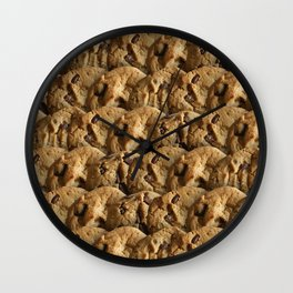 Chocolate Chip Bliss Wall Clock