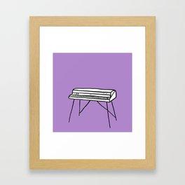 Rhodes Piano Framed Art Print