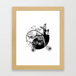 counterbalance Framed Art Print