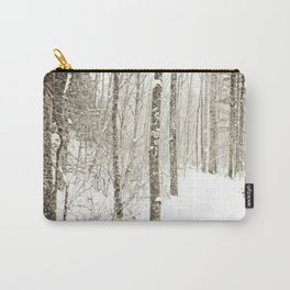 Wintry Mix Carry-All Pouch
