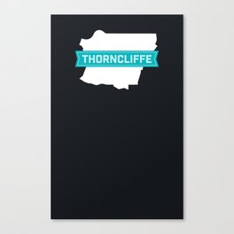 Thorncliffe Calgary Canvas Print