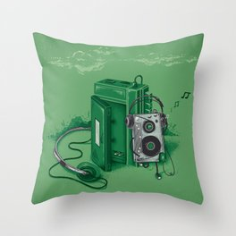 Music Break Throw Pillow