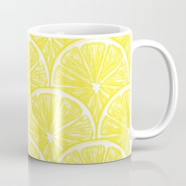 Lemon slices pattern design II Coffee Mug