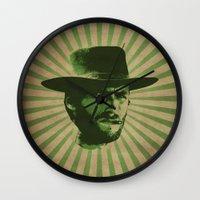 clint barton Wall Clocks featuring Clint by Durro