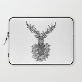 A Deer Portrait by Kent Chua Laptop Sleeve
