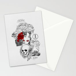 Peace & War Stationery Cards