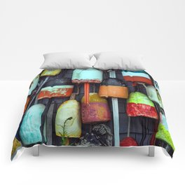 Float on a wall, Cape Cod Comforters