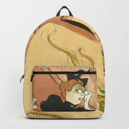"""Henri de Toulouse-Lautrec """"La loge au mascaron doré (Box with the Gilded Mask)"""" Backpack"""