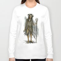 tina fey Long Sleeve T-shirts featuring death fey by laya rose