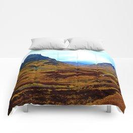 Glencoe, Scottish Highlands, in the Autumn Comforters