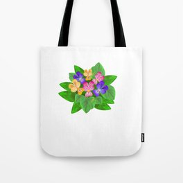 Violet Bouquet, flower, flowers Tote Bag