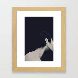 Vertebra Framed Art Print