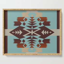 American Native Pattern No. 290 Serving Tray