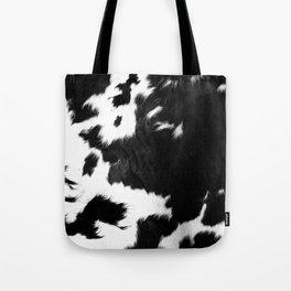 Rustic Cowhide Tote Bag