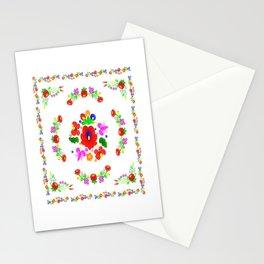 Hungarian Kalocsa 2 Stationery Cards
