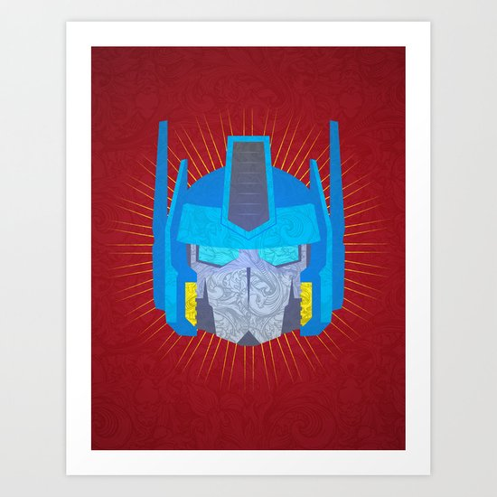 Optimus Art Print