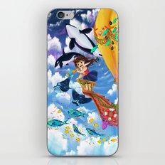 The Sea Wanderer iPhone & iPod Skin