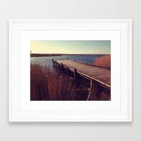 denmark Framed Art Prints featuring Denmark by Elisabeth Mochner