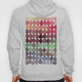 Colorful Watercolor Circles Pattern Hoody