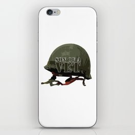 Son of a Veteran iPhone Skin