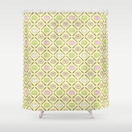 Mochi Kochi | Pattern in Yellow Shower Curtain